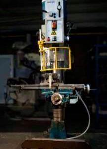 boormachine SZW afscherming arbeidsmiddel instructiekaart stand der techniek RIE Arbeidsmiddelen